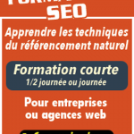 Booster votre visibilité Google seo background images ou seo google analytics report Formation pro, courte et longue